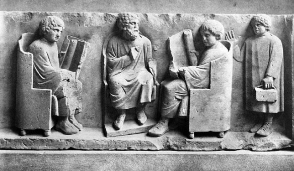 Roman school sculptural relief (180-185 CE)